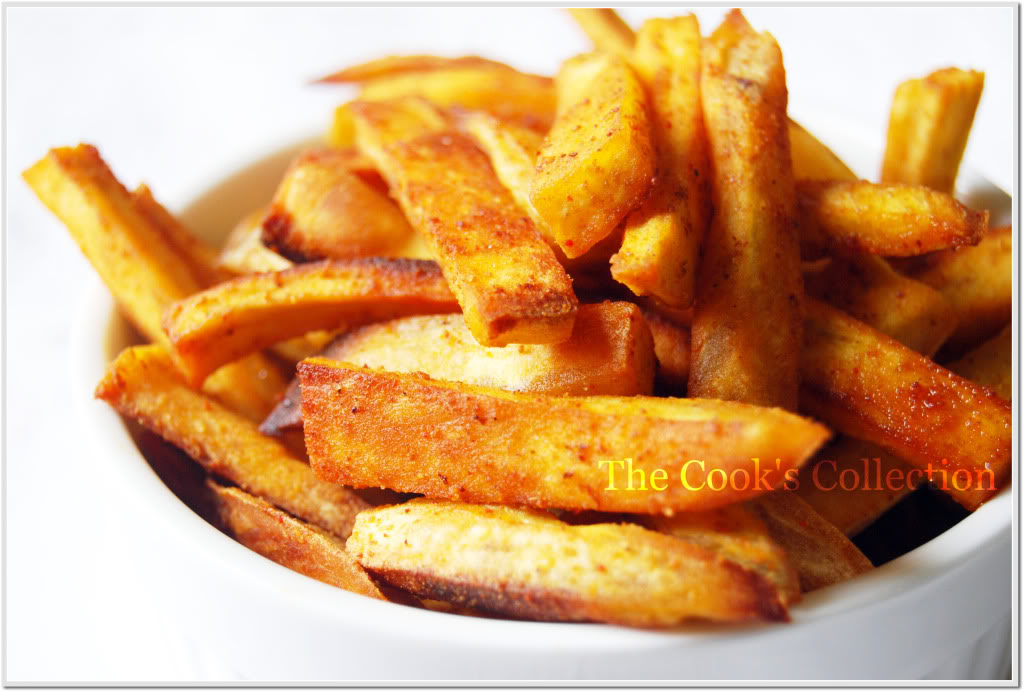 ... to win friends and influence people: Sweet potato fries | Grubby Girls