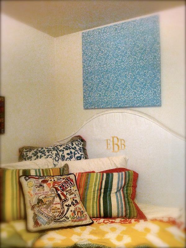 Fabric Panel Wall Art : How to fabric panel wall art… grubby girls