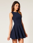 ASOS Ponti Waisted Dress